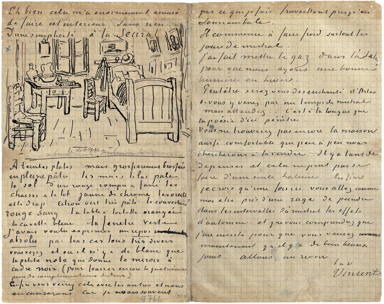 letter from van gogh to theo picture