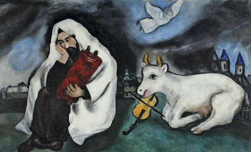 Chagall - Weiner Elementary Marc Chagall White Crucifixion Poem