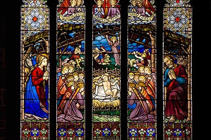 Days Of Christmas Stained Glass